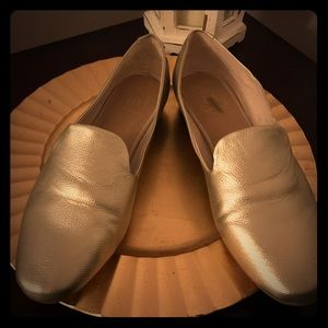 Gap Brand gold flats/loafers